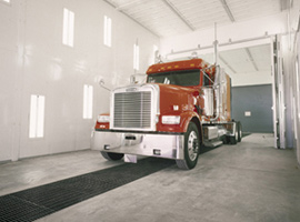 Ultra XL Spray Booth For Trucks