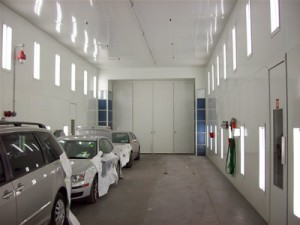 ADESA Corporation Gets a New Automotive Spray Booth