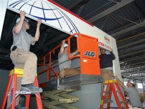 Hoffman Auto Group Gets a New Automotive Spray Booth