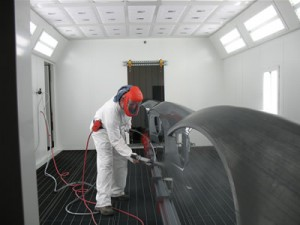 Plasan Carbon Composites Gets New Paint Line