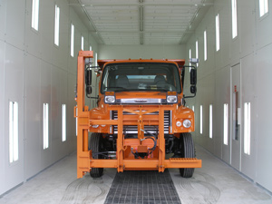 Truck Paint Booth