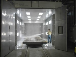 Trumpf Gets New Industrial Spray Booth For Paint Finishisng in Mexico