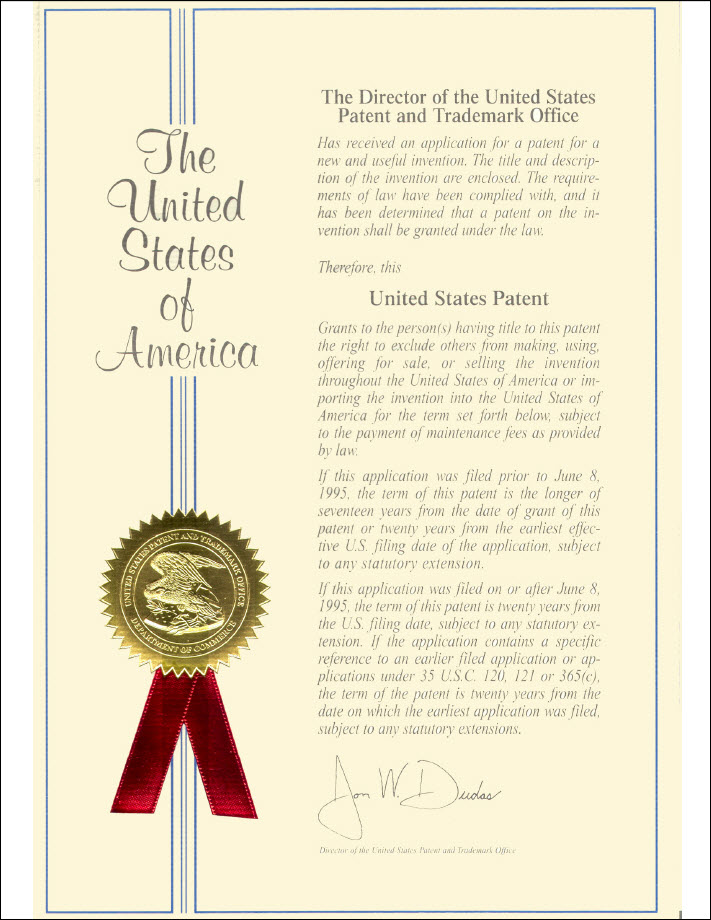 The Nitrotherm US Patent