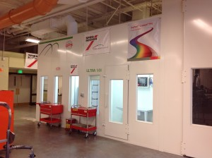 MAS Installs A New Spray Booth At Putnam Vocational Technical High School
