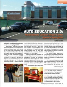 Putnam Vocational High School Featured Article